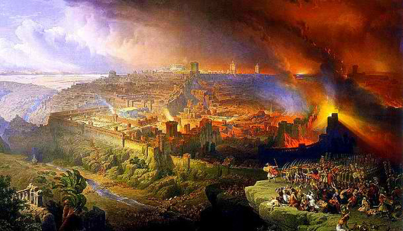 Second Temple Destruction Jerusalem Herod