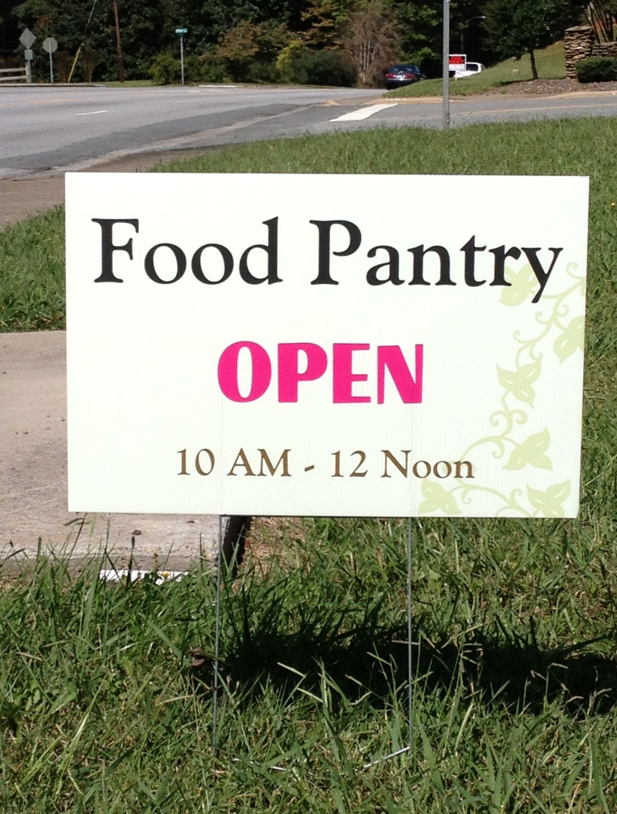Food-Pantry-Sign