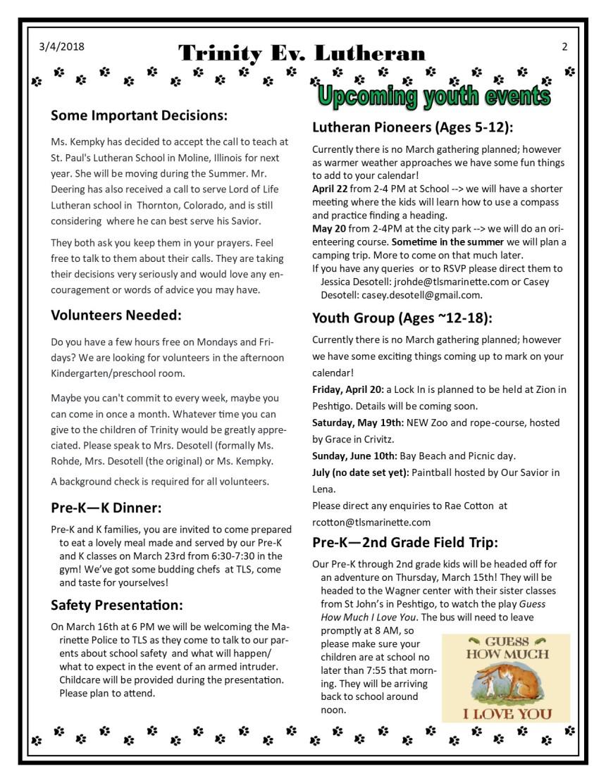 St PatricksMarch5Newsletter pg 2